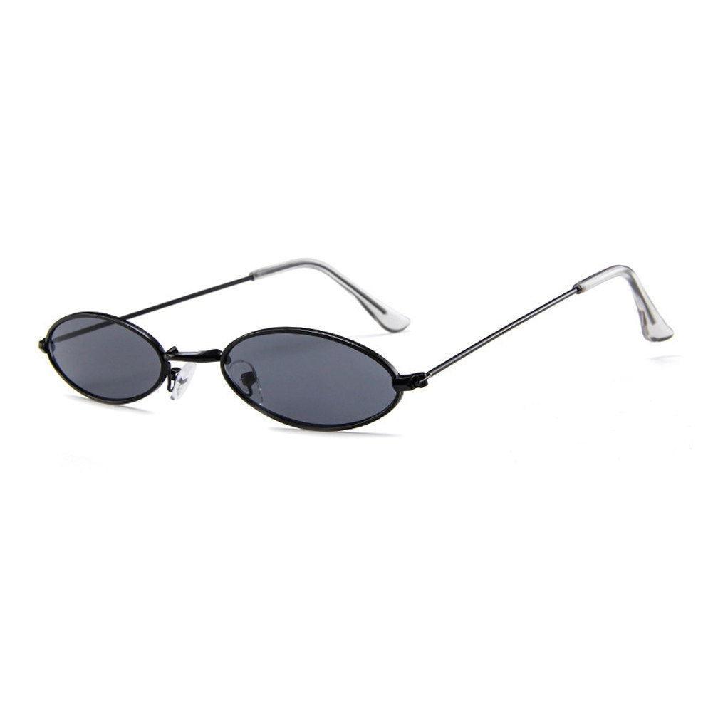 1c9aa73eb10 Designer Small Round Oval Sunglasses Women Men Clear Color Lenses Unis –  Costbuys