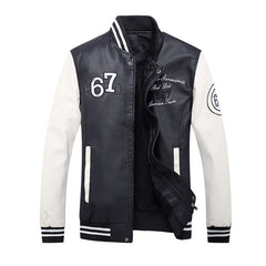 Motorcycle Leather Jackets Men Fashion Autumn Winter Leather Suede Clothing Men Jacket Fleece Lined Male Casual Coats