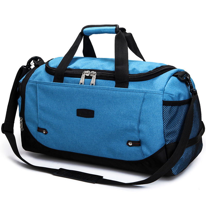 Costbuys  Unisex Gym Bag Travel Outdoor Shoulder Bags Handbag Tote Sports Bags Duffel Men Crossbody Large Clothes Storage Bag -