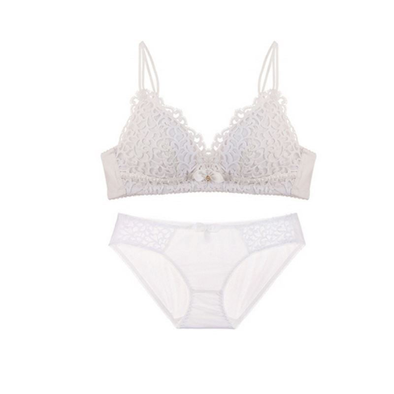 Thin Sexy Lace Women Underwear Wireless Embroidery Adjusted-straps Lin –  Costbuys 83d51e61c