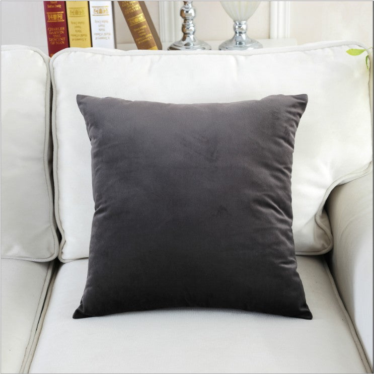 Costbuys  Candy Color Super Softer Velvet Home Decor Pillow Cover Velour Cushion Cover Home Decor pillows decorative pillowcase