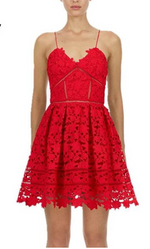 Bsexy Sexy Club  Ladies Red Lace Mini Dress Robe Dresses Women Party Night