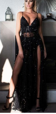 Sexy Summer Party Sequined Maxi Women Dresses Dresses Women Party Night