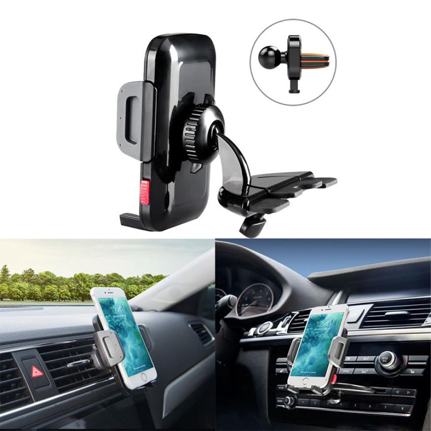 Costbuys  Car Auto Cd Slot Mount Cradle Mobile Phone Holder Stand Mobile Phone Accessories Cell Phone For Iphone 6S Samsung Gala