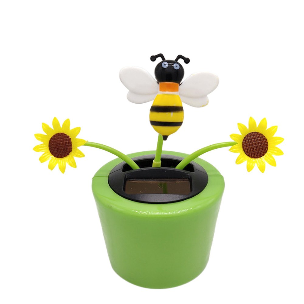 Costbuys  Car Solar Powered Dancing Flower Swinging Animated Dancer Toy Car Decoration New Ornaments Accessories - A
