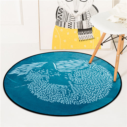 Costbuys  Carpet Round Kids Gym Rug Play Game Mat Baby Toys Pouch Storage Organizer Baby Crawling Blanket Outdoor Pad Room Dec -