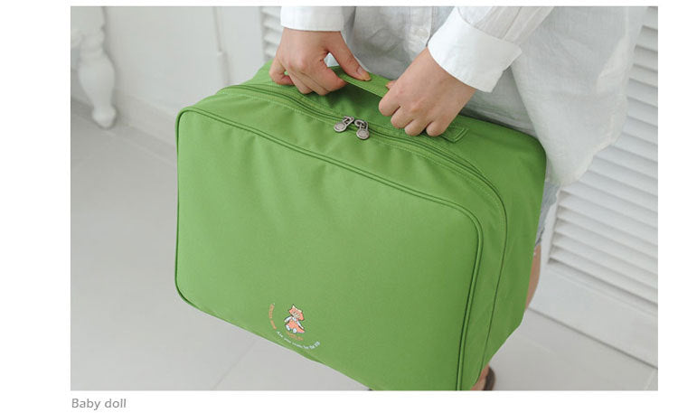 Costbuys  Carry on Luggage Bag Travel Men Women Unisex Suitcase Bag Large Luggage Business Trolley Bag - Light Green