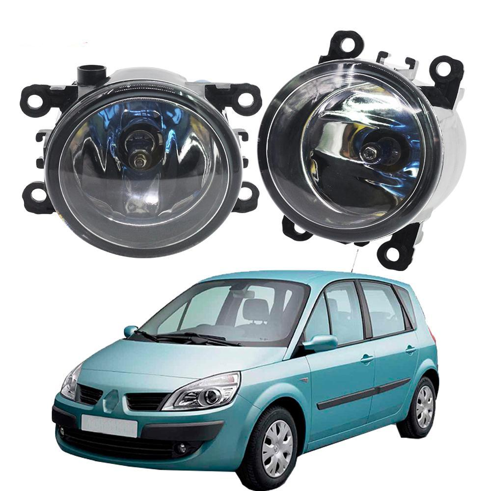 Costbuys  2 Pieces 100W H11 Car Accessories Halogen Fog Light Daytime Running Lamp DRL 12V For Renault Scenic - China
