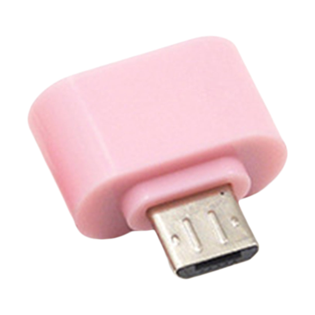 Costbuys  Digital Data New Standard Micro USB To USB OTG Mini Adapter Converter for Android Cell phones Accessories - Pink