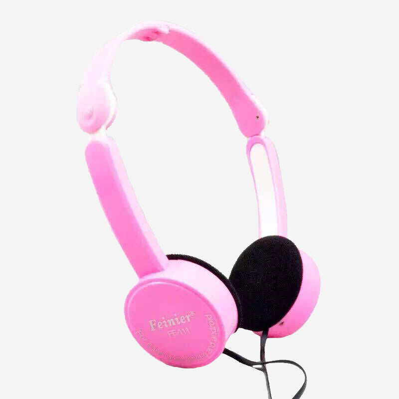 Costbuys  Children Foldable Wired Headphones Lighter Headset Portable 3.5mm Earphone With Wire Control Microphone For MP3 MP4 Co