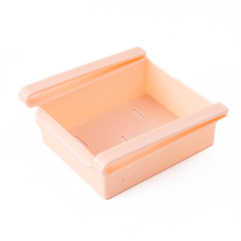 Costbuys  Colorful Refrigerator Storage Box Container Creative Fresh Spacer Layer Storage Rack Drawer Fresh Spacer Sort Kitchen