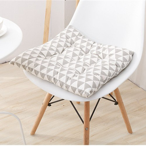 Costbuys  Comfortable Cotton Seat Cushion Office Bar Chair Back Seat Cushions Sofa Pillow Buttocks Chair Cushion Home Office Dec