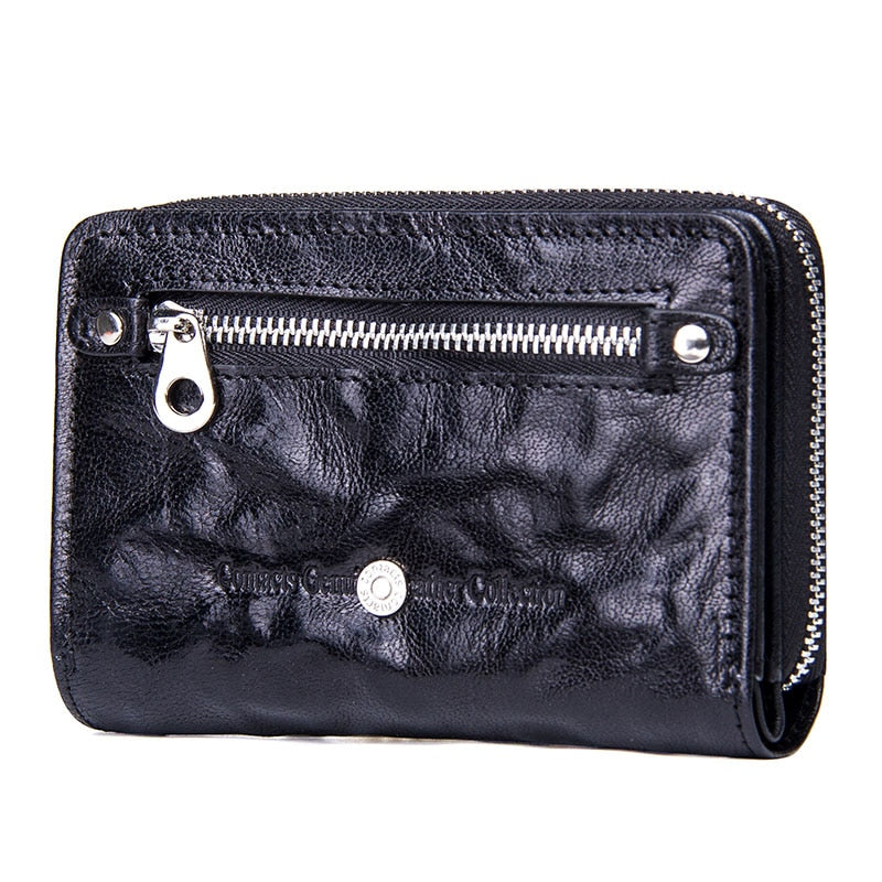 Fashion Small Wallet Women Genuine Leather Coin Purse Short Wallets Fo –  Costbuys 19abdc6411c