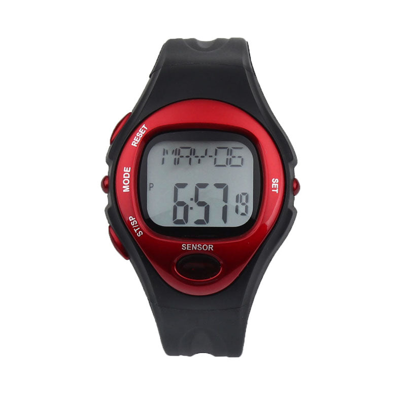 Costbuys  Creative Fashion Waterproof Digital LCD Pulse Heart Rate Monitor Calories Counte Digital Watches relogio masculino - R