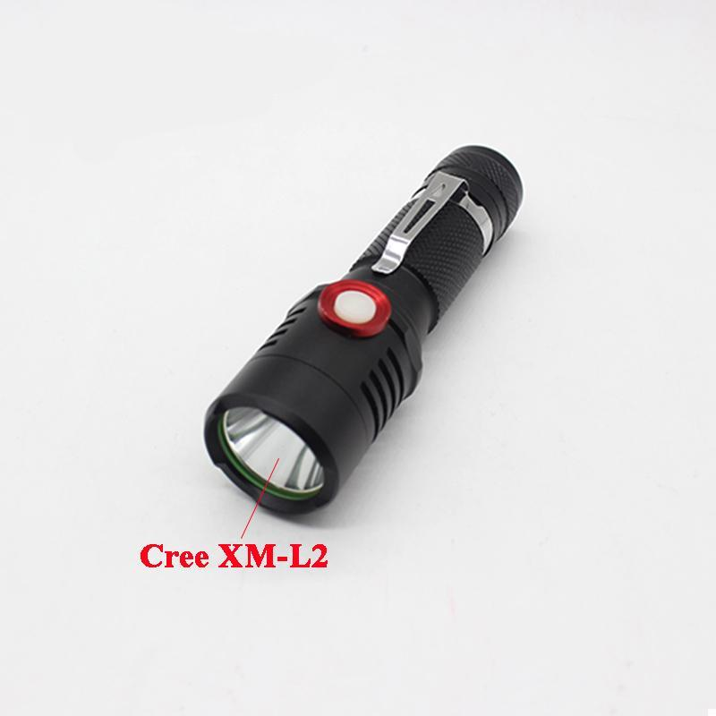 Costbuys  Cree XM-L2 U2 Powerful Led Flashlight 3800 Lumens Tactical Led Lantern Linternas Waterproof USB Flashlights Torch Lamp