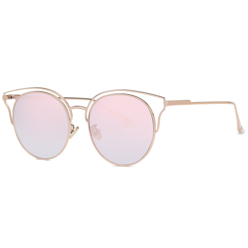 Costbuys  Sunglasses Women Vintage Pilot Coating Glasses with Metal Frame Sunglass Men Outdoor Oculos Gafas De Sol - c6