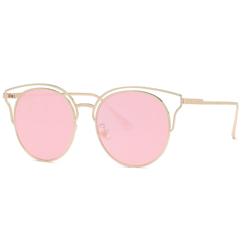 Costbuys  Sunglasses Women Vintage Pilot Coating Glasses with Metal Frame Sunglass Men Outdoor Oculos Gafas De Sol - c5