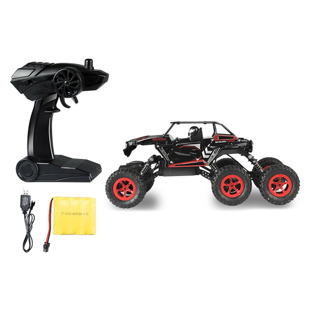 Costbuys  Car Rock Crawler 6-wheel Drive High Speed Racing Car Buggy Climbing Off-Road Car Truck Toy for Children - Red / Austra