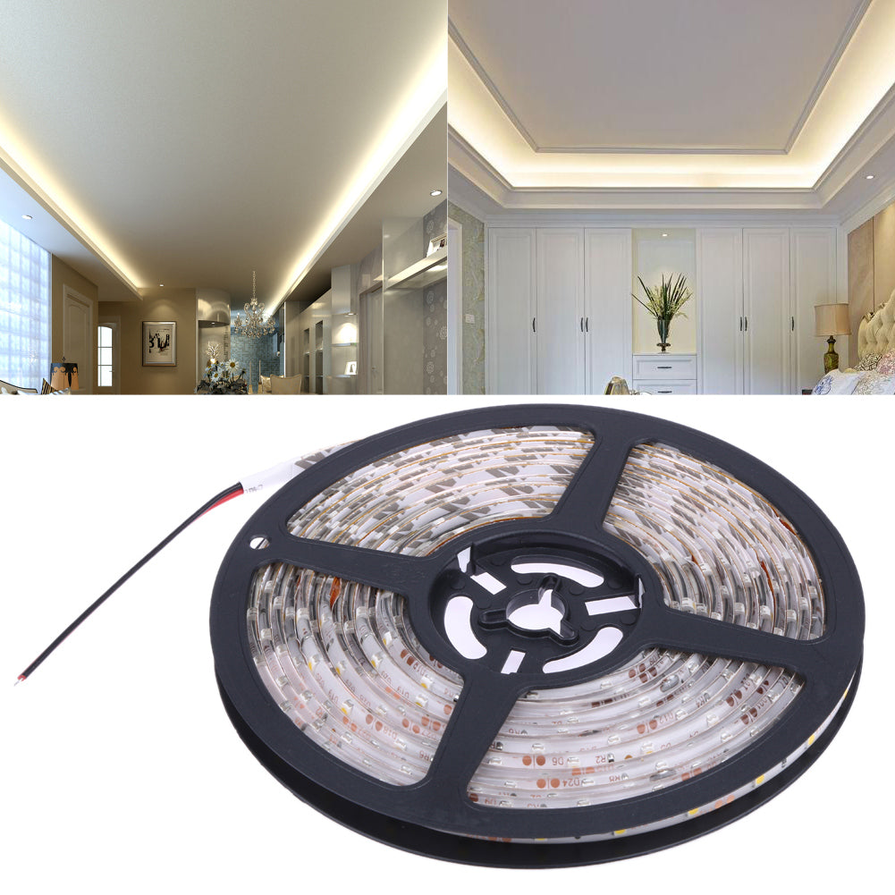 Costbuys  LED Strip Light IP65 Waterproof Led Tape flexible Strip Light 60Leds/m Tira Home Decor Lamp Car Lamp - Warm White