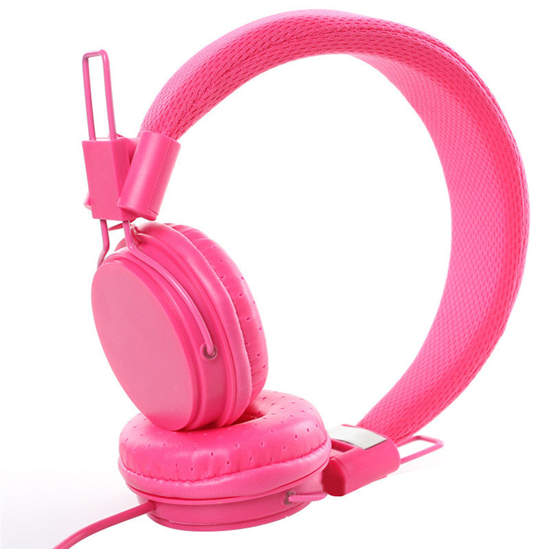 Costbuys  DEEP BASS Headphones Earphones 3.5mm AUX Foldable Portable Adjustable Gaming Headset For Phones MP3 MP4 Computer PC Mu