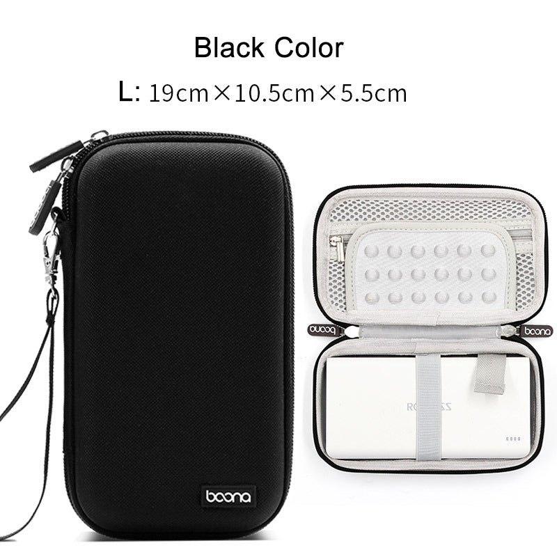 Costbuys  Digital Gadget Device HDD Power Bank Storage Bag for Travel Electronics Accessories USB Data Cable Earphone Organizer