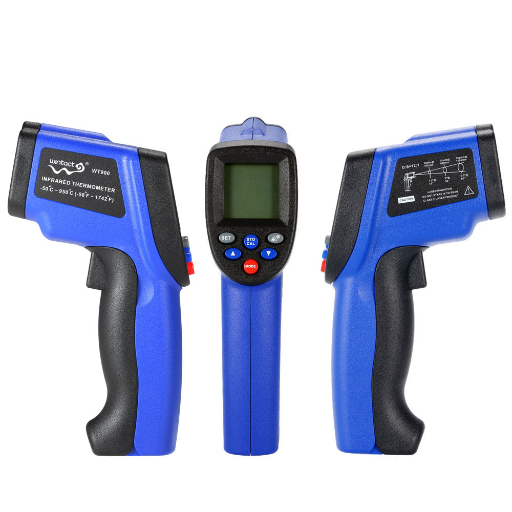 Costbuys  Digital LCD Laser IR infrared thermometer -50~950C/-50~700C Non-Contact termometro Professional Temperature Tester Pyr