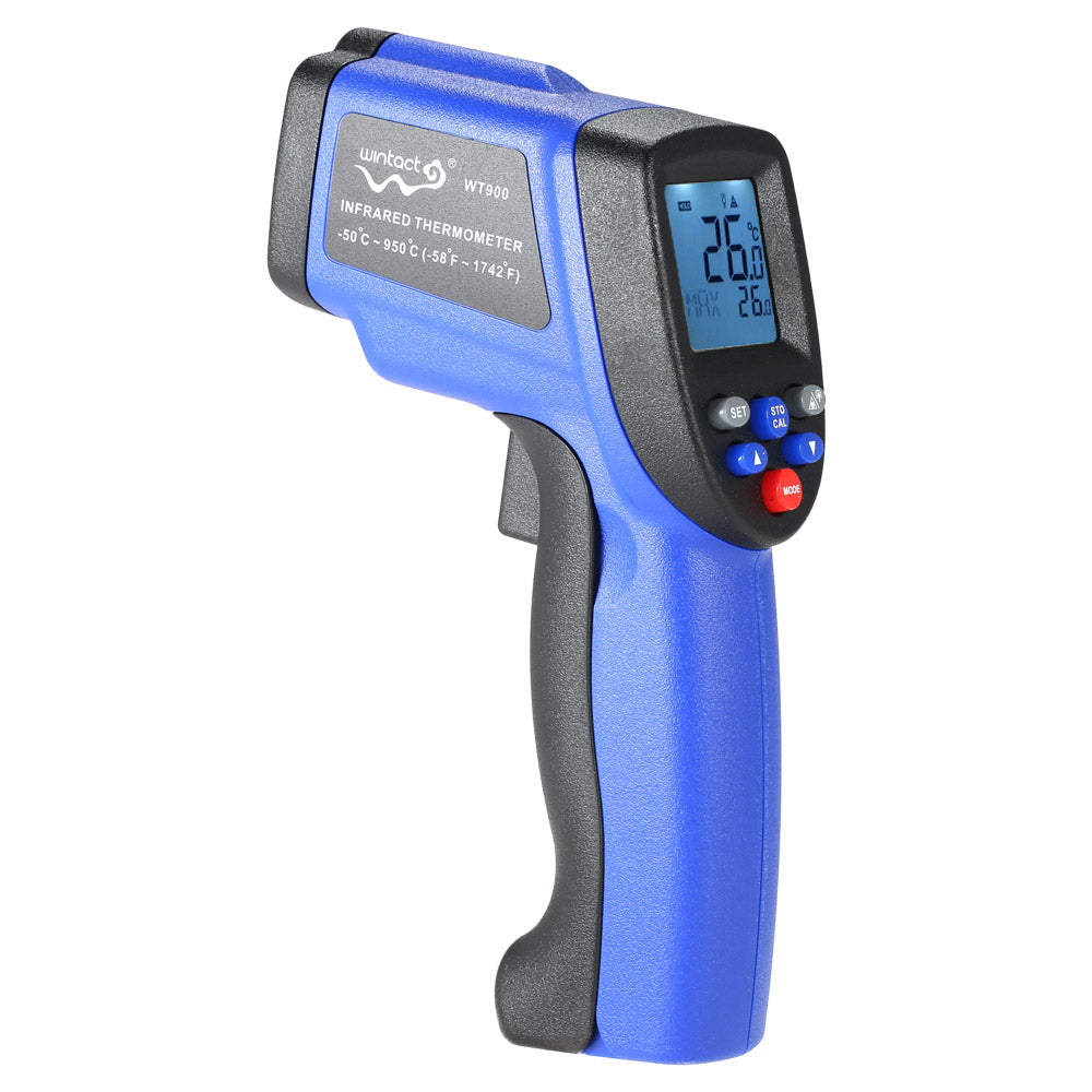 Costbuys  Digital LCD Laser IR infrared thermometer -50~950C/-58~1742F Non-Contact termometro Professional Temperature Tester Py