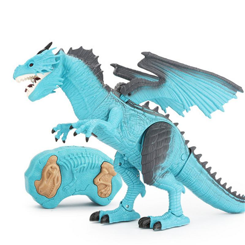 Costbuys  Dinosaur toy for kid Tyrannosaurus Rex Remote Control Dinosaur for boy best  gift for boy girl children - Blue