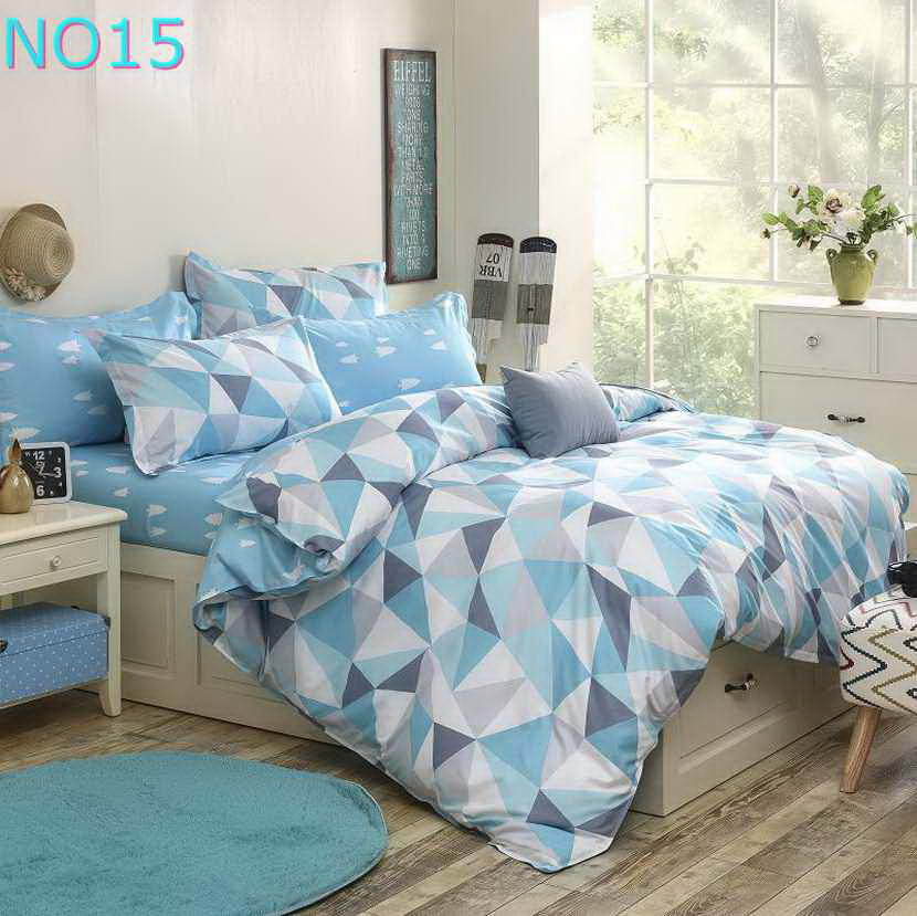 Costbuys  Discount bedding, winter super warm bedding set, duvet cover / bed sheet / pillowcase, king size, 4pcs - Ivory / Full