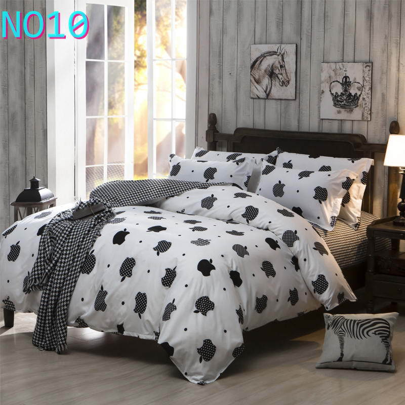 Costbuys  Discount bedding, winter super warm bedding set, duvet cover / bed sheet / pillowcase, king size, 4pcs - Silver / Full
