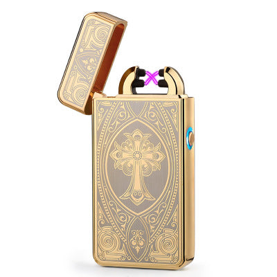 Costbuys  Dragon USB Electronic lighter Portable Novelty Plasma lighters USB isqueiro gadgets for man No gas Smoking Encendedor
