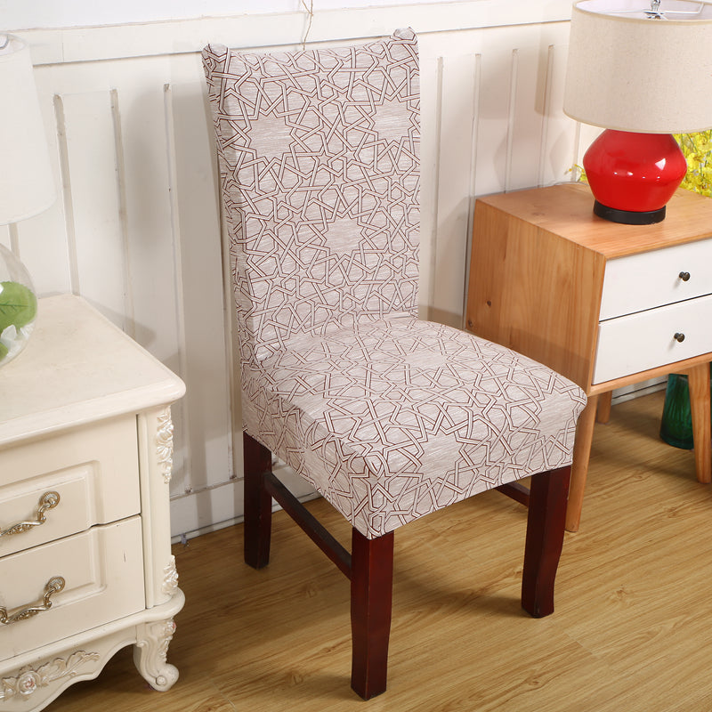 Costbuys  Computer Chair Cover Universal Chair Covers Dining Room Stretch Elastic Covers for Kitchen Chairs Spandex Chair Cover