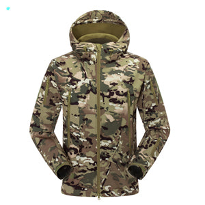 Costbuys  Autumn Winter Jackets Sport Outdoor Climing Hiking Windbreaker Coat windstopper softshell jacket for mens - CP / S