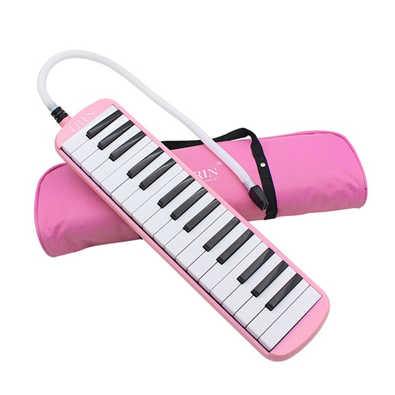 Costbuys  Durable 32 Piano Keys Melodica with Carrying Bag Musical Instrument for Music Lovers Beginners Gift Exquisite Workmans