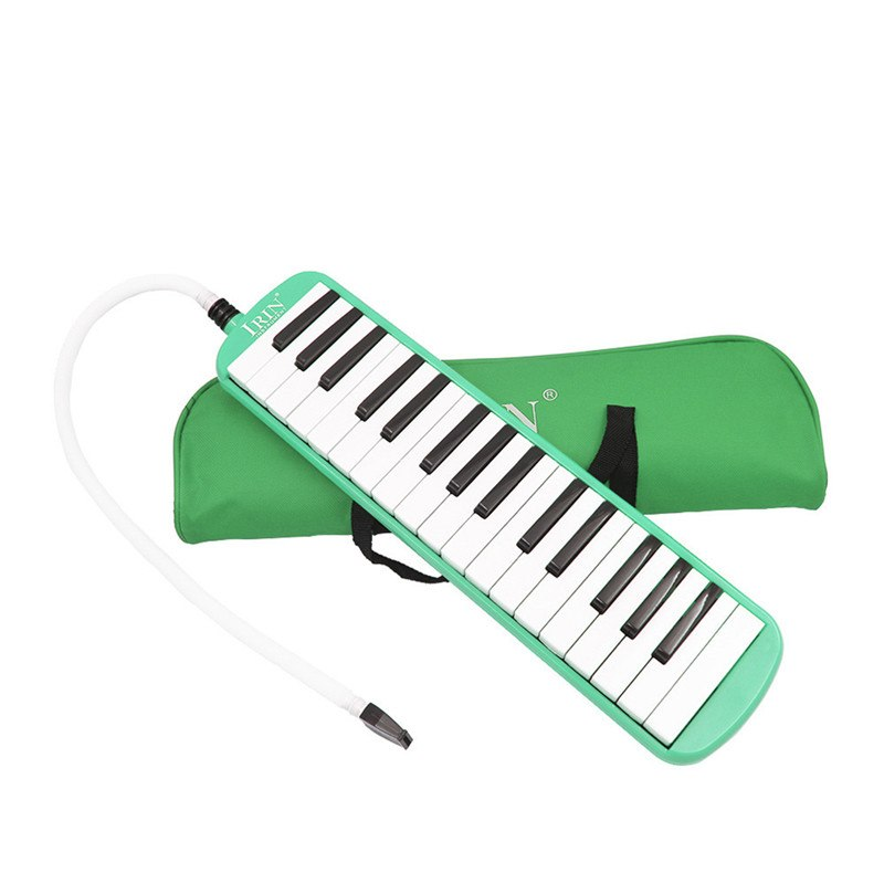 Costbuys  Durable 32 PianoBeginners Gift Exquisite Workmanship Keys Melodica with Carrying Bag Musical Instrument for Music Love