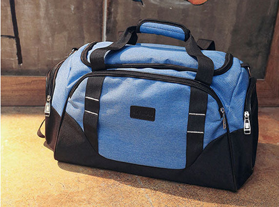 Costbuys  Durable Gym Bag Travel Outdoor Shoulder Bags Handbag Sports Bags Fitness Men Crossbody Large For Shoes Pocket Waterpro