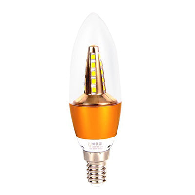 Costbuys  E14 LED Candle Light Bulb AC 220V Bulb For Pendant Lamp Wall Lamp Energy Saving Living Room Crystal Light Source - A 5