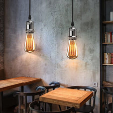 Edison Retro Chandelier Socket Bulb Holder + Suction Cup Family Restaurant and Cafe Lighting Decorative Light Accessories