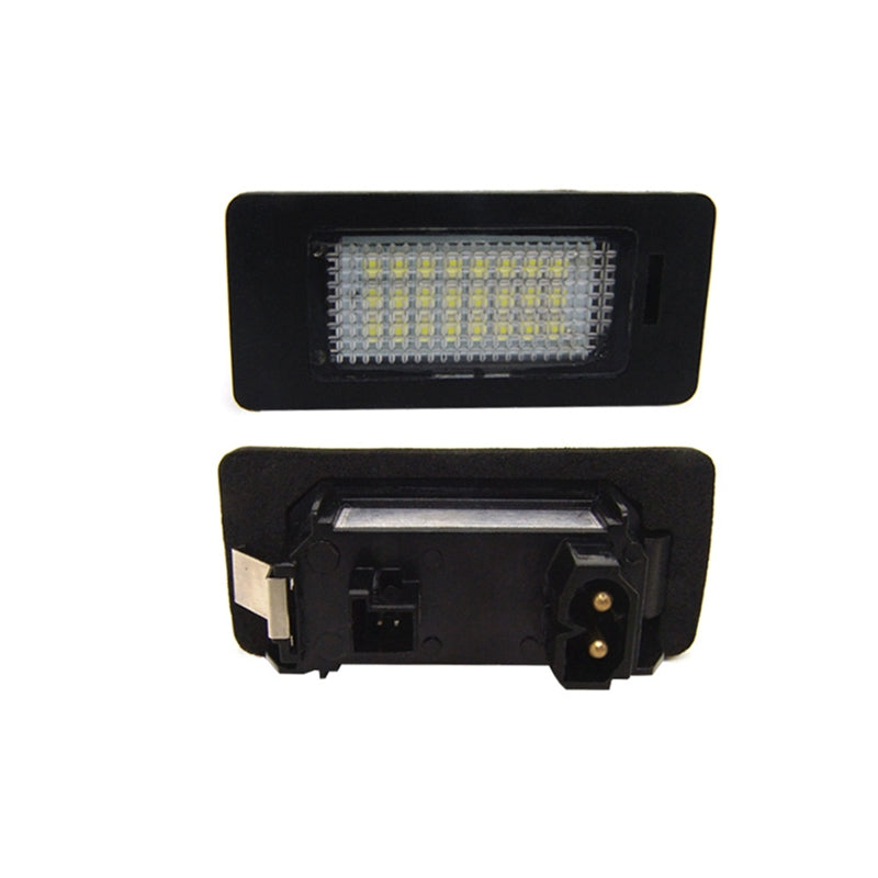 Costbuys  E82/E88 LED License lamp black car led license plate light lamp Car Styling Accessories