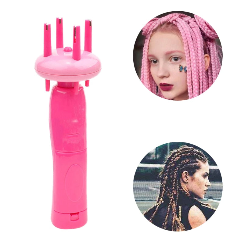 Costbuys  Electronic Automatic DIY Hairstyle Fashionable Tool Braid Machine Hair Weave Roller Twist Braider Device Kit Gadget Fo