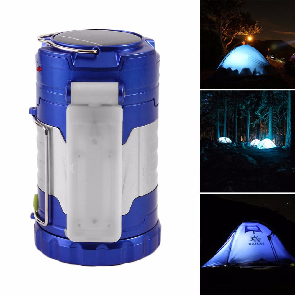 Costbuys  Energy Saving Outdoor Camping Tent Lights Portable Solar Lantern Camping Light Rechargeable Led Hand Lamp Foldable Eme