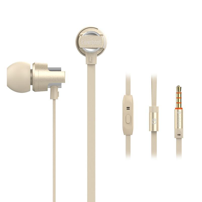 Costbuys  6S Wired Earphones with Mic Microphone for Phone In-Ear Headsets Standard Stereo Earbuds for Iphone Samsung Huawei - G