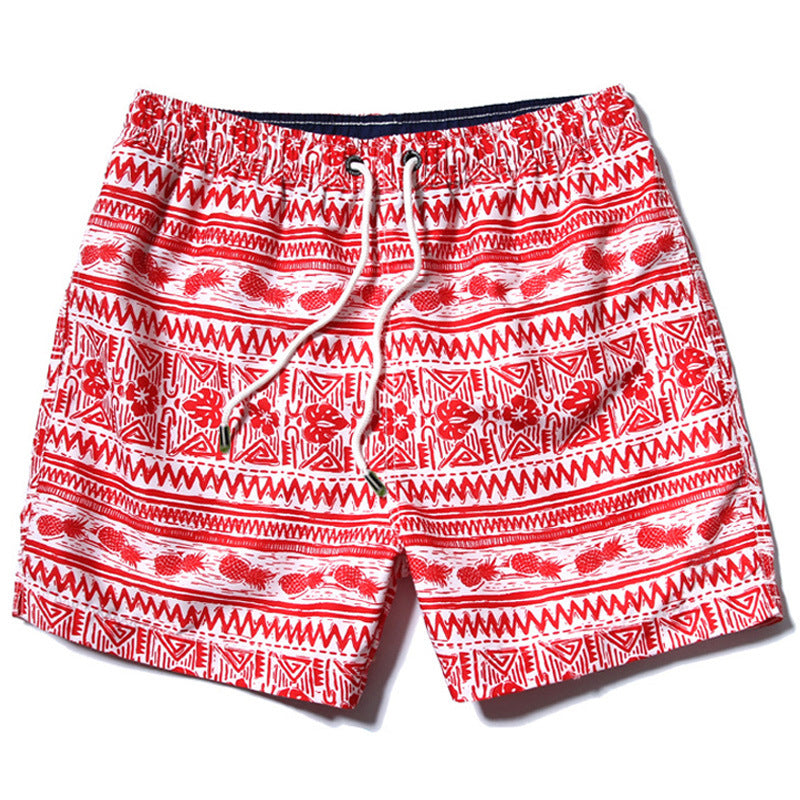 83f0445a Costbuys Mens Slim Fit Quick Dry stripe Short Swim Trunks With Mesh ...