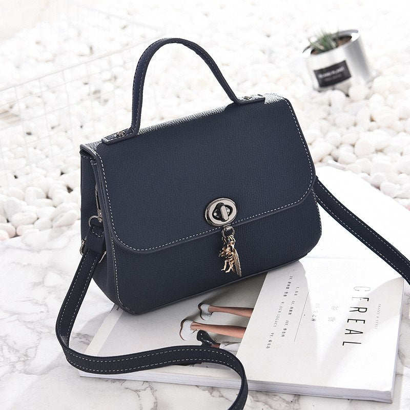 Costbuys  Famous Brands Luxury Designer Woman Fashion Concise Handbag Shoulder Package top-handle crossbody bags women leather h