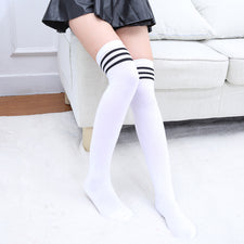 Designer Women Over The Knee Socks Thigh High Thick Lovely Girls Princess Knee High Long Socks
