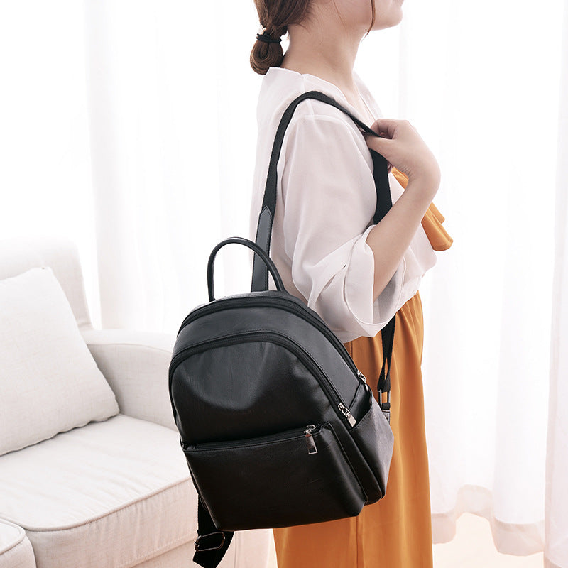 df695684025c Fashion Women Backpack High Quality PU Leather Backpacks for Teenage Girls  Female School Shoulder Bag Bagpack