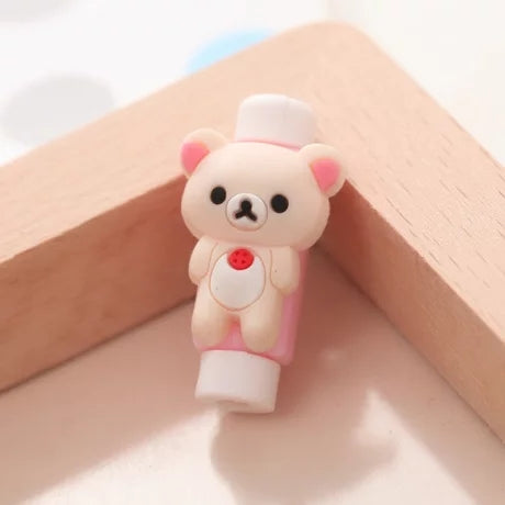 Costbuys  Fashion cartoon New USB Cable Earphones Protector Colorful Coque For Iphone X 8 4 4s 5 5s 5c se 6 6s 7 7S Plus Case Fu