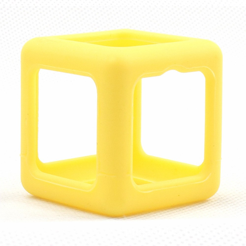 Costbuys  Fingertips Cube Decompression Leisure Cube Children Toys Fidget Cube Stress Relief Focus Toy Protective Cover Case Yel