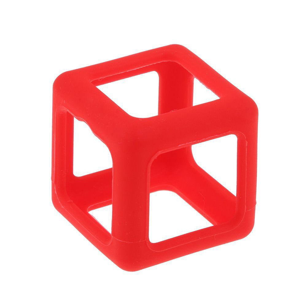 Costbuys  Fingertips Cube Decompression Leisure Cube Children toys Fidget Cube Stress Relief Focus Toy Protective Cover Case Bla