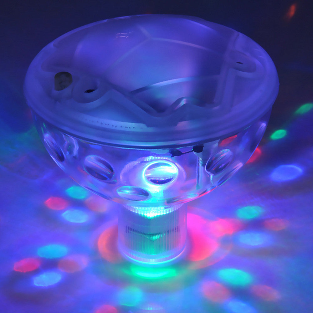Costbuys  Floating Underwater LED Disco Light Glow Show Swimming Pool Hot Tub Spa Lamp - Changeable / Clear